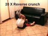 Get six pack abs in 6 minutes on your couch. This Works!