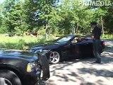 Police Dodge Charger Burnout