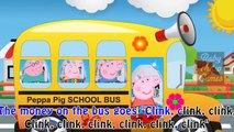 Peppa Pig Nursery Rhymes Kids Songs fun animated cartoon Music Wheels on the Bus