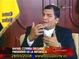 """Entrevista a Rafael Correa 2/2 tras el triunfo del SÍ a la Nueva Constitución """"Actuales gobiernos de América Latina jamás permitirán otra dictadura"""""""