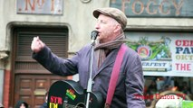 Occupy Dame Street: Billy Bragg singing 'There is power in a union' 22nd October 2011