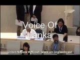 Traitor Sunanda deshapriya lies at the UN Human Rights Council and Whitewashes LTTE