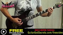 How To Play Smells Like Teen Spirit by Nirvana - Easy Guitar Lesson