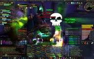 World of Warcraft Curse vs The Four Horsemen Vanilla Naxxramas