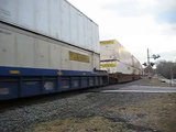 Norfolk Southern NS 242 Intermodal Train at Norcross, GA