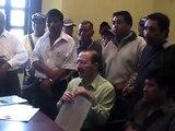 COCODES de Huehuetenango piden reunión a la Municipalidad
