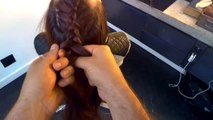 Beauty 101 - Google Glass Hair How-To: Braided High Ponytail
