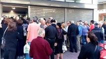 Άνοιξαν οι τράπεζες στη Λαμία. Ουρές από τους συνταξιούχους 1