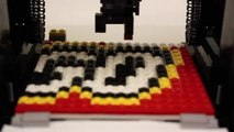 Magic Lego Printer to create mosaic Art with coloured bricks