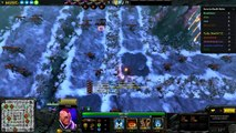 Slide ninja slide in Dota 2 with subzz lol azaz