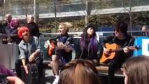 Hey Violet Acoustic Hangout Dublin rowyso 29/5/15