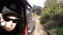 MUST SEE!! Cab Ride in SP 2472 on the Niles Canyon Railway (3/25/12) - Sunol to Brightside Yard