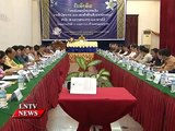 Lao NEWS on LNTV: Revenue generated by state organisations must strict regulations.15/10/2014