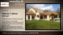 A vendre - maison - FERRIERES EN GATINAIS (45210) - 7 pièces - 155m²