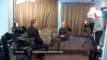 euronews interview - Timoshenko denuncia una represión política a gran...
