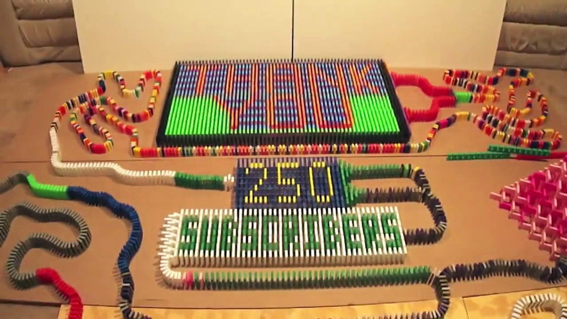 250 Subscribers - 4,500 Dominos!