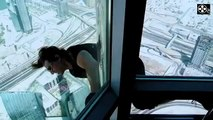 Tom CRUISE Burj Khalifa stunts for Mission Impossible 4