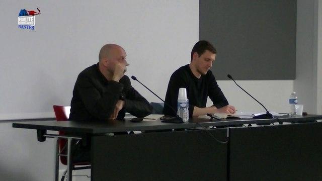 Jusqu'où vont-ils descendre ? – Conférence d'Alain Soral et Pierre de Brague à Nantes (09/05/2015) Partie 2