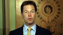 Queen's Speech 2014: Nick Clegg's message