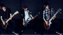 Sleeping With Sirens - If I`m James Dean; You`re Audrey Hepburn [Guitar BassCover]