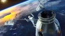 EPIC Skydiver Jumps From Edge Of Space | Felix Baumgartner 128k Red Bull Jump