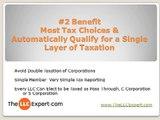 Benefits of an LLC Protection, LLC Taxes & LLC Governance