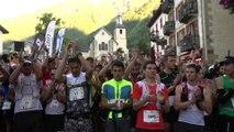 Marathon- Highlights Départ - Chamonix Marathon du Mont-Blanc 2015