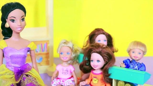 Disney Frozen Kids Jasmine Barbie School Parody Littlest Pet Shop LPS Toy Toby AllToyCollector