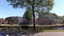 Beelden: Woonkamer door brand verwoest in Oude Pekela - RTV Noord