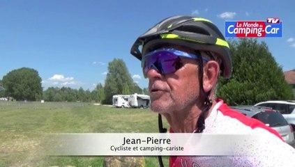 """Jean-Pierre pratique le camping-car et le vélo : """"Une jouissance de vie !"""""""