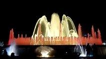 The Magic Fountain of Montjuic, Barcelona HD (Freddie Mercury and Montserrat Caballe)