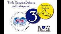 Entrevista con el Mtro. Ignacio Betancourt Robles, 3er. Encuentro Sindical, SITTGE.