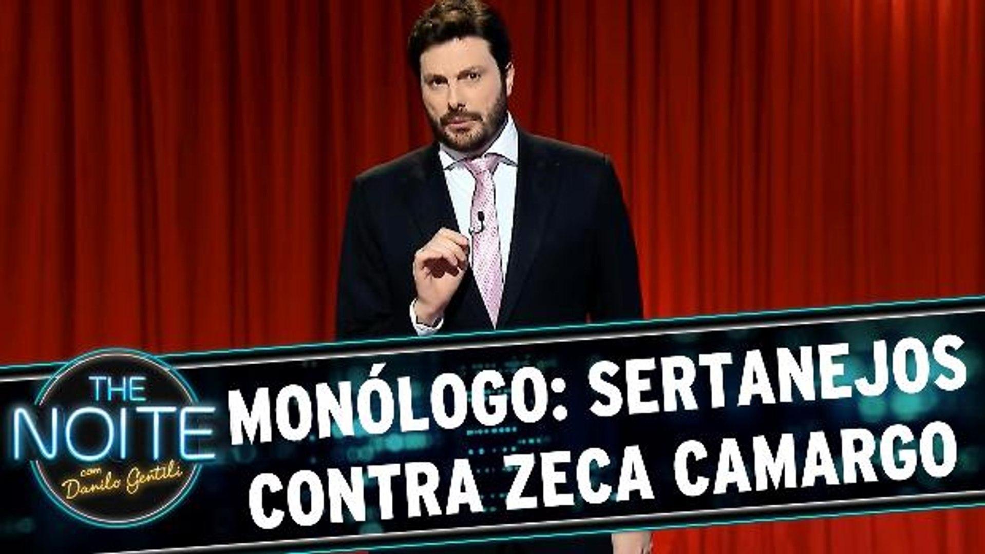 Monólogo: Sertanejos se revoltam com Zeca Camargo após fala sobre Cristiano Araújo