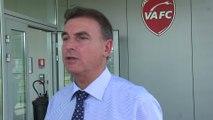 Foot - L2 - Valenciennes : Zdziech «La folie des grandeurs est terminée»
