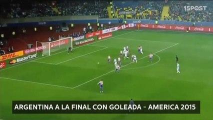 Argentina a la final con goleada - America 2015 - GOLES