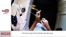 Il atterrit dans un téléphérique en parapente - Le Zapping insolite