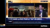 Manifestations en Grèce : un journaliste de BFM TV agressé en plein direct !