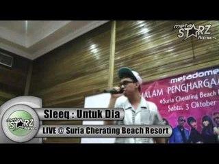 Sleeq - Untuk Dia [LIVE-Suria Cherating Beach Resort]