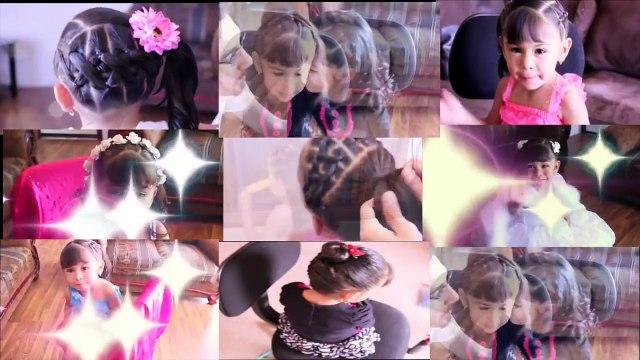 Peinados Rapidos Y Faciles Para La Escuela Peinados En 5 Minutos Para Niña Video Dailymotion