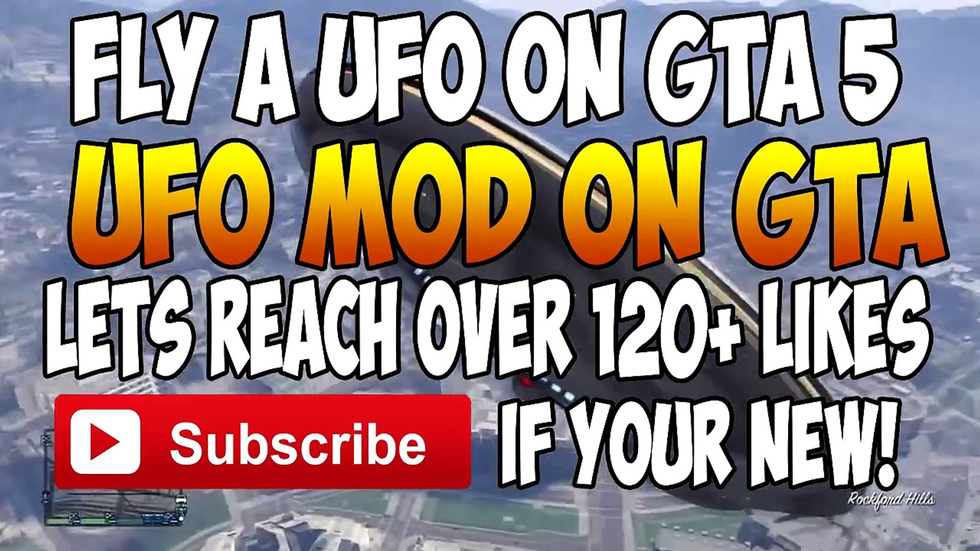 GTA 5 Mods - Flying a UFO -