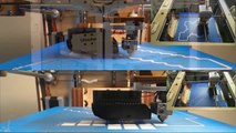 3D Printing Minecraft Diamond Sword & Diamond Pickaxe on Ultimaker 3D Printer 2013, 2014