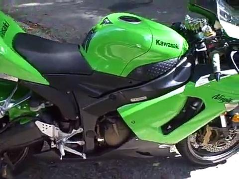 2005 Kawasaki ZX6R