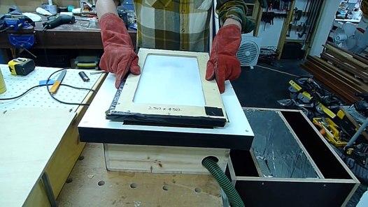 Diy Vacuum Forming Machine 3mm Acrylic Sheet Prototyping