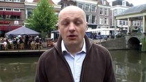 Boris van der Ham op de ELCID informatiemarkt