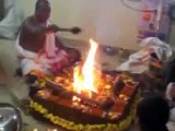Sri Maha Ganapathi Moola Mantra Homam during Ganesh Chaturthi festival