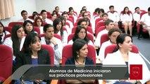Alumnos de Medicina iniciaron sus prácticas profesionales - Universidad Autónoma de Chile, Talca