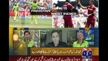 Shoaib Akhtar Barking on Misbah ul Haq On loosing Pakistan vs West Indies World Cup 2015