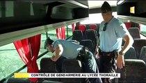 Arme & Drogue Lycée Thoraille Martinique !? Gendarmes Contrôlent Élèves Bus Scolaire Rivière-Salée