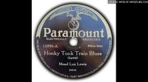 "Meade ""Lux"" Lewis - Honky Tonk Train Blues (original version)"