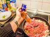 Lasagne selbst gemacht - einfach, schnell und lecker - Schritt für Schritt - Rezept / recipe